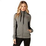 Dámská mikina FOX Girls Outbound Sherpa Zip Hoody Heather Graphite