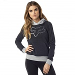 Dámská mikina FOX Girls Phoenix Pullover Hoody Heather Black