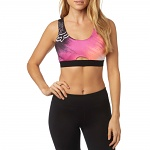 Dámská podprsenka FOX Hyped Sports Bra Berry Punch