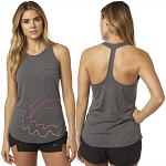 Dámské tílko FOX Eyecon T-Back Tank Heather Grey