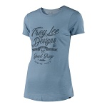 Dámské tričko TroyLeeDesigns Womens Widow Maker Crew Tee Dusty Blue