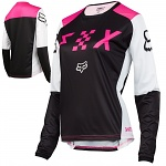 Dámský dres FOX Womens Switch Jersey Black Pink 2018