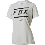 Dámský MTB dres FOX Womens Ripley SS Jersey Bars Cloud Grey 2018