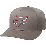 Dětská čepice FOX Youth Heretic FlexFit Hat Grey