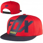 Dětská čepice FOX Youth Scalene SnapBack Hat Dark Red