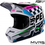 Dětská helma na motokros FOX V1 Youth Czar Helmet Light Grey 2019