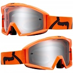 Dětské brýle FOX Youth Main Race Goggle Orange