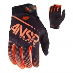 Dětské rukavice ANSWER Syncron Youth Glove Orange Black 2017