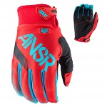 Dětské rukavice ANSWER Syncron Youth Glove Red Teal 2017