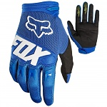 Dětské rukavice FOX Youth Dirtpaw Glove Race Blue 2018