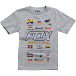 Dětské tričko FOX Youth Jugend Edify SS Tshirt Heather Grey