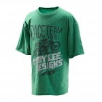 Dětské tričko TroyLeeDesigns Youth Lighting Fast Tshirt Green