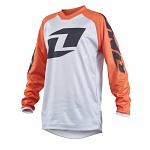 Dětský dres na motokros čtyřkolky bmx One Industries Youth Atom Icon Jersey Gray Orange 2015
