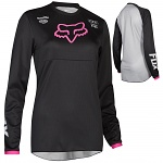 Dětský dres na motokros FOX 180 Jersey Youth Girls Black Pink 2019