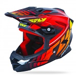 Downhill a bmx helma FLY Default Helmet Black Red 2016