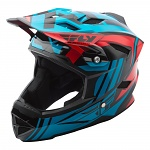 Downhill a bmx helma FLY Default Helmet Teal Red 2018