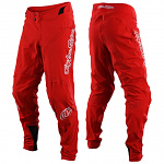 Downhill bmx kalhoty TroyLeeDesigns Sprint ULTRA Pant Red 2020
