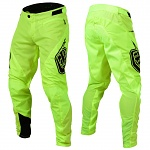 Downhill kalhoty TroyLeeDesigns Sprint Pant Solid Flo Yellow 2019