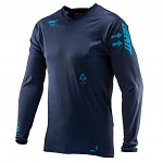Dres na kolo Leatt DBX 5.0 All-Mountain Jersey Ink 2020