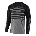 Dres na kolo TroyLeeDesigns Skyline LS Jersey Streamline SRAM Heather Grey 2019