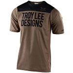 Dres na kolo TroyLeeDesigns Skyline SS Jersey Block Walnut Black 2020