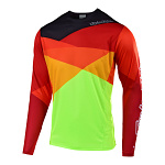Dres na kolo TroyLeeDesigns Sprint Jersey Jet Yellow Orange 2019