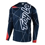 Dres na kolo TroyLeeDesigns Sprint Jersey Metric Navy Red 2018