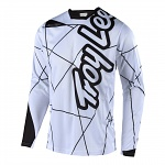 Dres na kolo TroyLeeDesigns Sprint Jersey Metric White Black 2018