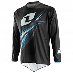 Dres One Industries Atom Jersey Forma Black Blue 2015