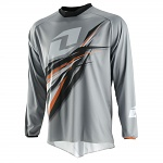 Dres One Industries Atom Jersey Forma Grey Orange 2015