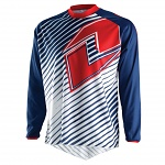 Dres One Industries Atom Jersey Lines Navy Red 2015