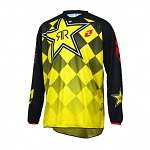 Dres One Industries Atom Rockstar Jersey Black Yellow 2016