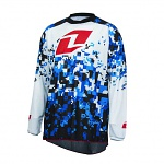 Dres One Industries Atom Vented Jersey Digital Camo White 2016