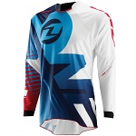 Dres One Industries Gamma Jersey Erupt White Blue 2015