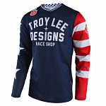 Dres TroyLeeDesigns GP AIR Jersey Americana Navy 2020