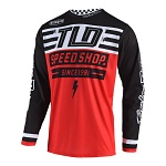 Dres TroyLeeDesigns GP AIR Jersey Bolt Red 2019