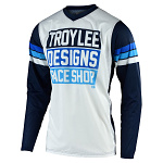 Dres TroyLeeDesigns GP AIR Jersey Carlsbad White Navy 2020