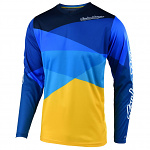 Dres TroyLeeDesigns GP AIR Jersey Jet Yellow Blue 2020