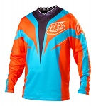 Dres TroyLeeDesigns GP AIR Jersey Mirage Blue Orange