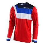 Dres TroyLeeDesigns GP AIR Jersey Prisma Red 2018