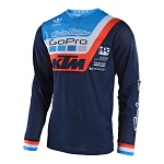 Dres TroyLeeDesigns GP AIR Jersey Prisma Team KTM Navy 2018