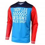 Dres TroyLeeDesigns GP AIR Jersey Raceshop Ocean 2019