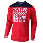 Dres TroyLeeDesigns GP AIR Jersey Raceshop Red 2019