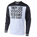Dres TroyLeeDesigns GP AIR Jersey Raceshop White 2019