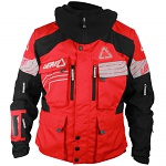 Pánská enduro bunda Leatt GPX W.E.C Jacket Red