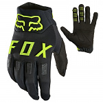 Enduro rukavice FOX Legion Water Glove Black Yellow 2021