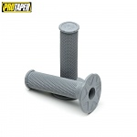 Gripy na moto ProTaper MX Single Density Full Diamond Grips Soft Light Grey