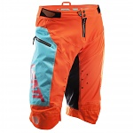 Kraťasy na kolo Leatt DBX 4.0 Short Orange Teal