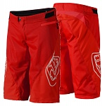 Kraťasy na kolo TroyLeeDesigns Sprint Shorts Red 2019