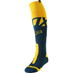 Moto ponožky FOX Coolmax Thick Sock Kila Navy Yellow 2019